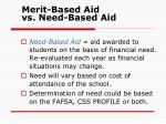 merit based aid vs need based aid1
