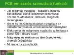 pcb emisszi s szimul ci funkci i