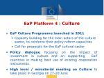 eap platform 4 culture