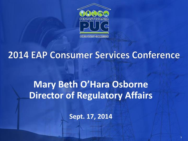 mary beth o hara osborne director of regulatory affairs sept 17 2014 n.