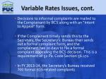 variable rates issues cont2