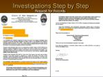 investigations step by step6