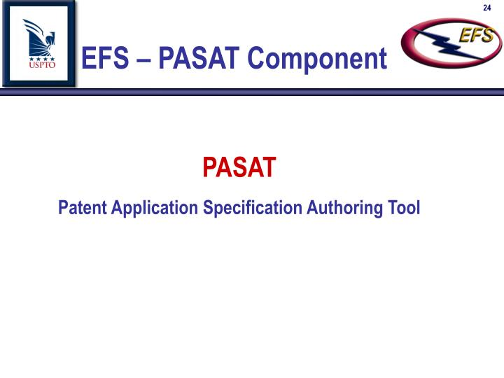 EFS – PASAT Component