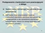 post powanie z banknotami euro powracaj cymi z obiegu10
