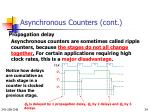 asynchronous counters cont1