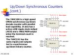 up down synchronous counters cont1