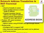 network address translation nat traversal