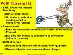 voip threats 1