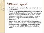2000s and beyond