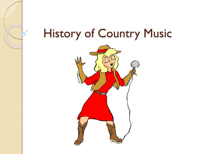 history of country music n.