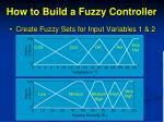 how to build a fuzzy controller3