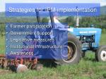 strategies for ipm implementation
