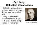 carl jung collective unconscious