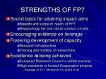 strengths of fp7