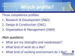 which profile