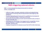 nqfs triggering national reforms
