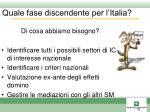 quale fase discendente per l italia2