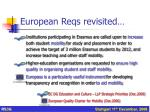 european reqs revisited1