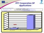 fp7 cooperation sp applications