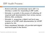 erp audit process