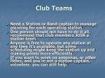 club teams