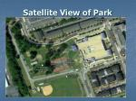 satellite view of park