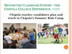 beyond the classroom support the chipola college difference cont2