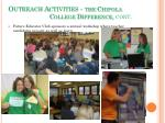 outreach activities the chipola college difference cont