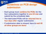 guidelines on pcb design submission1