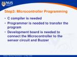 step3 microcontroller programming