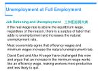 unemployment at full employment10