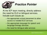 practice pointer7