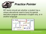 practice pointer8