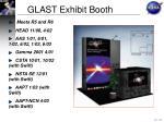 glast exhibit booth