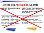 enterprise application search