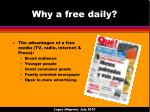 why a free daily