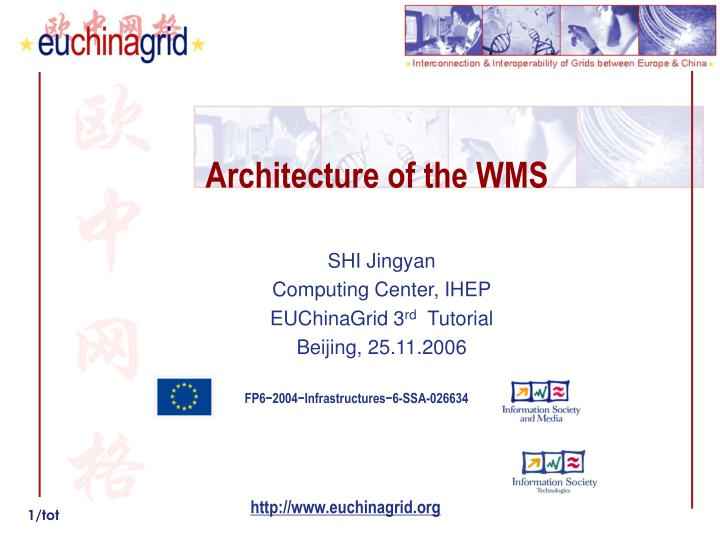 architecture of the wms n.