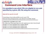 command line interface3