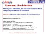 command line interface4