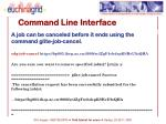 command line interface5