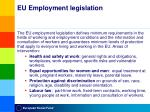 eu employment legislation