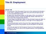 title ix employment2