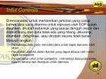 infut controls