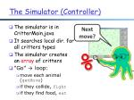 the simulator controller
