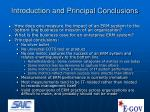 introduction and principal conclusions