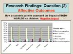 research findings question 2 affective outcomes3