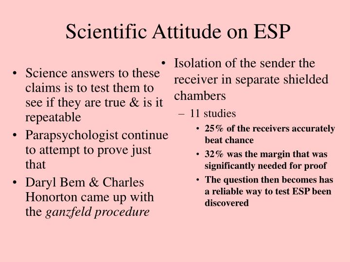 Science answers to these claims is to test them to see if they are true & is it repeatable