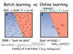 batch learning vs2