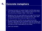 concrete metaphors