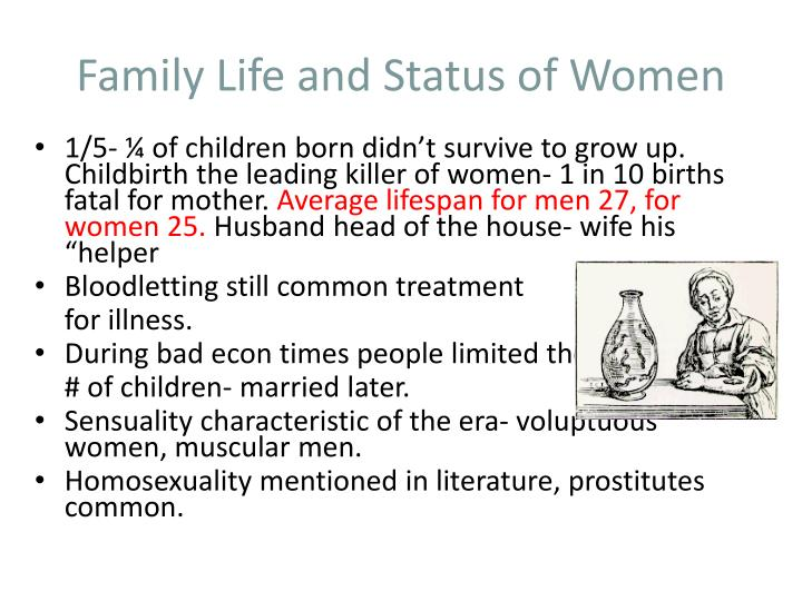 Family Life and Status of Women